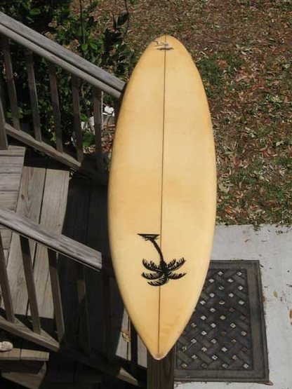 Maui board shaped by Jimmah late 80's