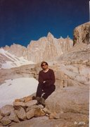 Rock Climbing Photo: Self portrait with Mt. Whitney in the background