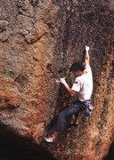 "Rock Climbing Photo: Banny Root on ""The Diceball"", Tahoe. Pho..."