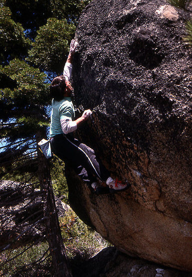 Rock Climbing Photo: Jay Smith At The Borneo Boulders, Tahoe. Photo by ...