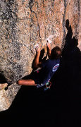 Rock Climbing Photo: Kurt Rasmussen at Echo View, Tahoe. Photo by Blitz...