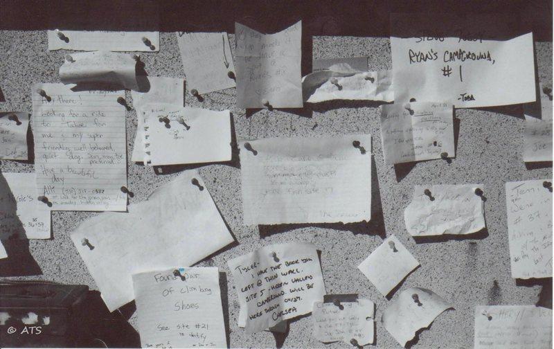 HVC note board