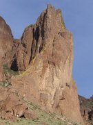 Rock Climbing Photo: Spider Walk