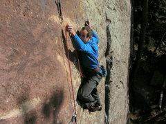 Rock Climbing Photo: Ahhhhhhhhhhh.