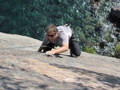 Rock Climbing Photo: shovel point