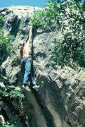 Rock Climbing Photo: Dynamo Hum.
