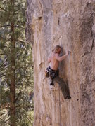 Rock Climbing Photo: tyler hoffart on twisted shocker @ sunshine