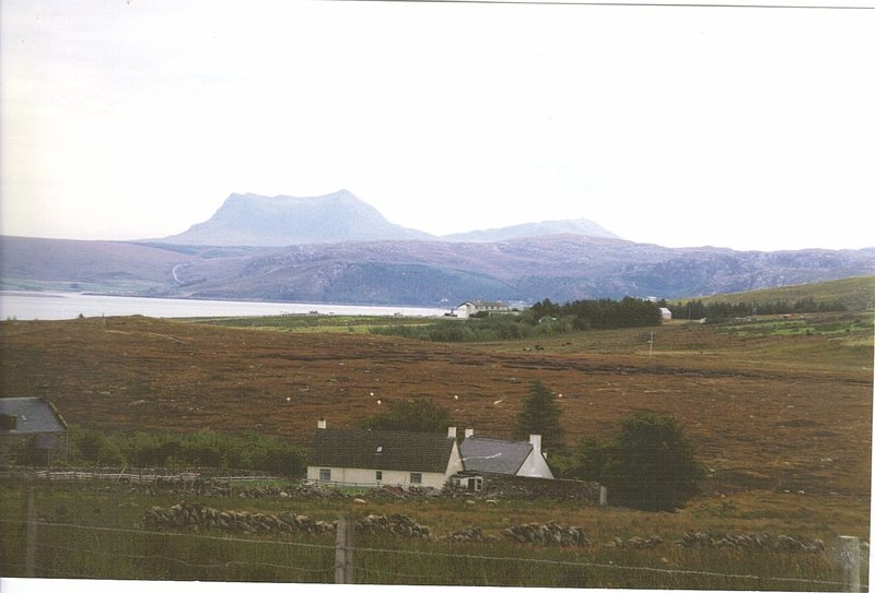 Looking towards the mountain of Liathach.