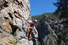 Rock Climbing Photo: Animation.