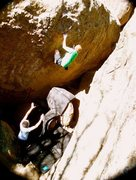 Rock Climbing Photo: ****