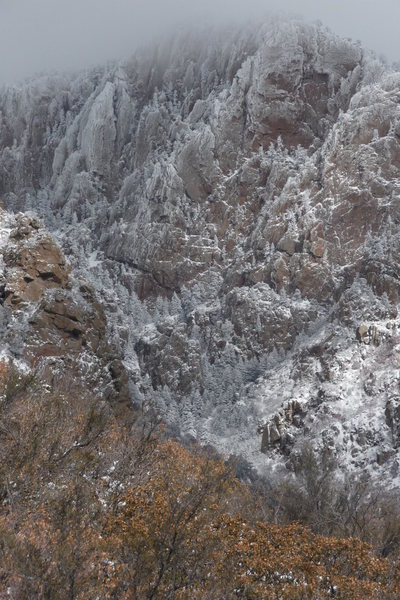 Rock Climbing Photo: A view a little up the east side Echo Canyon in Ja...
