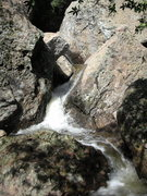 Rock Climbing Photo: The Grotto approach boulders, winter 2010, after h...