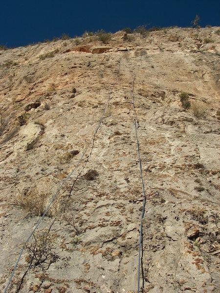 Classic rope & rock photo
