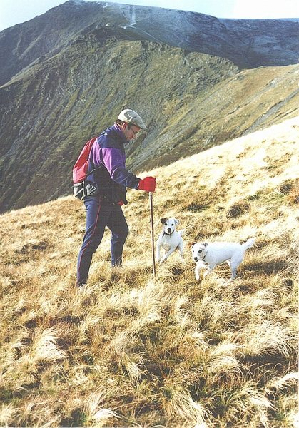 Rock Climbing Photo: Hiking on Blencathra.