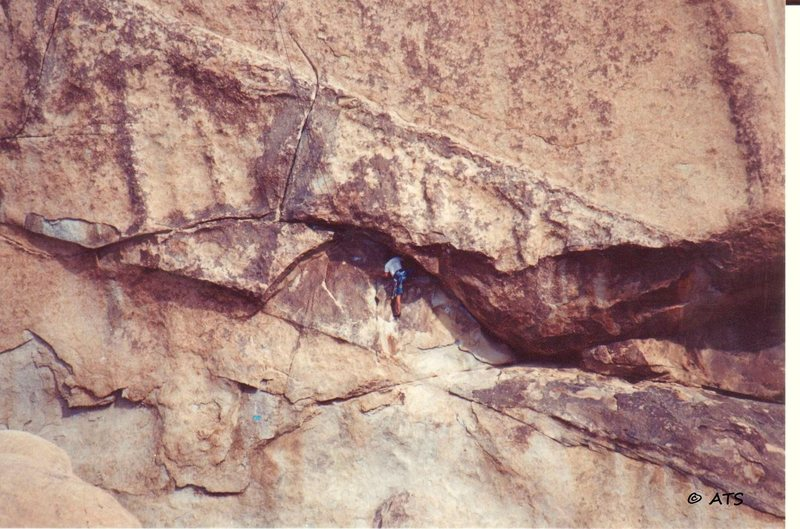 Rock Climbing Photo: Following Sidewinder