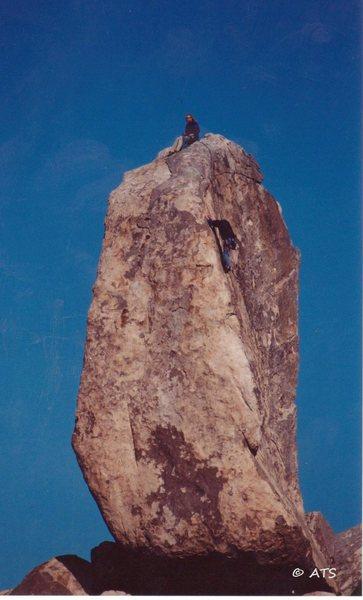 Rock Climbing Photo: Climbers on SW
