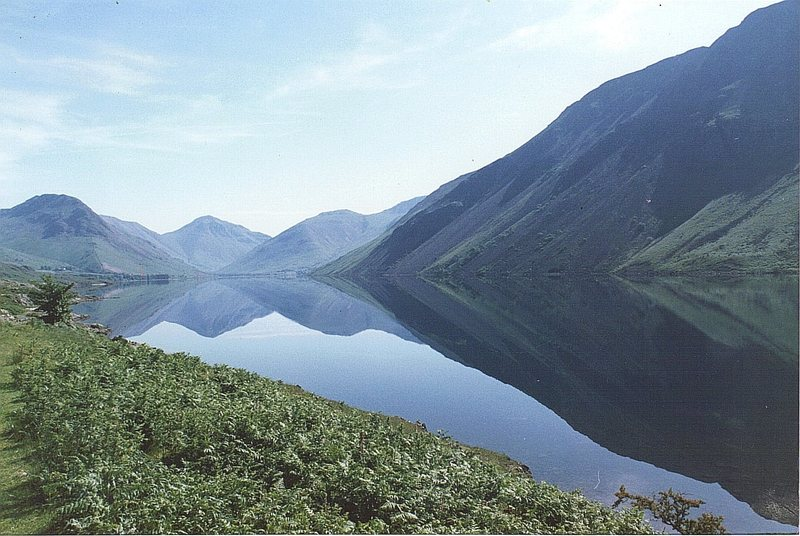Rock Climbing Photo: Reflections. Wasdale Lake and Valley