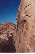 Rock Climbing Photo: Climber on Illusion Dweller
