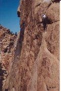 Rock Climbing Photo: Crux of Illusion Dweller
