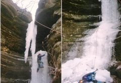 Rock Climbing Photo: Here's a composite shot of the day it fell down wh...