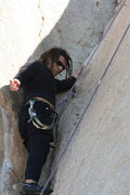 Rock Climbing Photo: Roger getting some crack experience on the Jam cra...