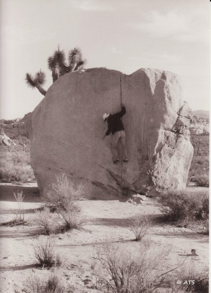Rock Climbing Photo: Bruce on Pinhead