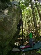 Rock Climbing Photo: Simon Villeneuve
