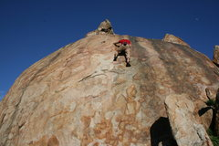 Rock Climbing Photo: Eric O right of Power Pak. 1-24-10