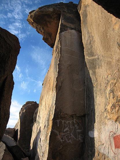 Rock Climbing Photo: A Nice arete. Photo by Blitzo.