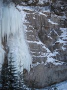 Rock Climbing Photo: Eastern Xpansion.  The route follows directly up t...