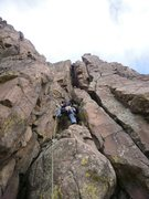 Rock Climbing Photo: COLD!
