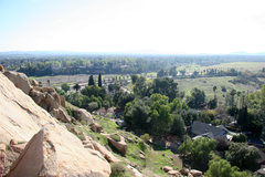 Rock Climbing Photo: Looking from The Wild West Area South, across Glen...
