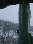 Rock Climbing Photo: Ice Palace, Anjie toproping.