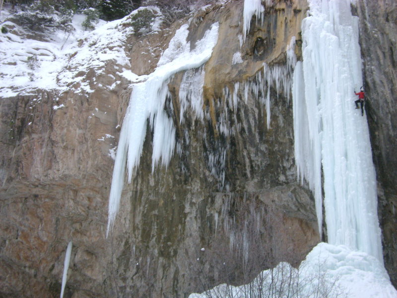 Rock Climbing Photo: Ice Palace.