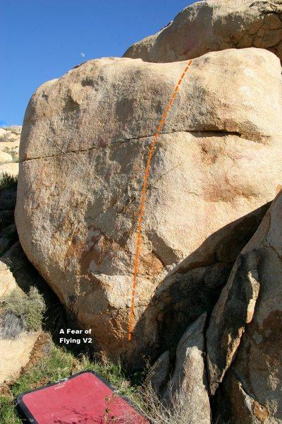 Rock Climbing Photo: Buggered Wall Left Topo