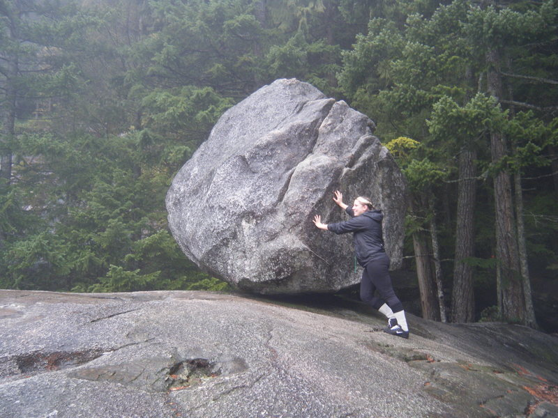 big rock at chief trail