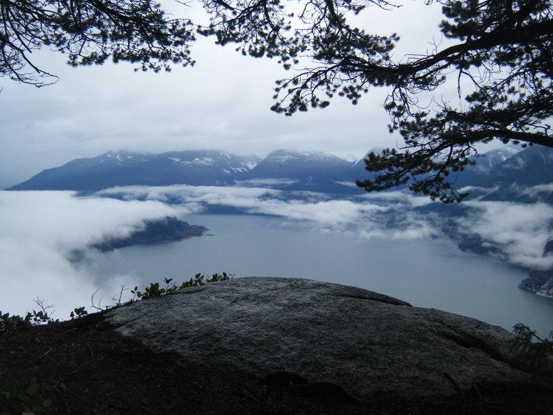 Rock Climbing Photo: firstpeak