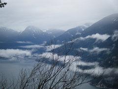 Rock Climbing Photo: first peak