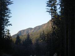 Rock Climbing Photo: bluffs at bunzten lake