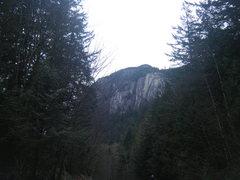 Rock Climbing Photo: chief south side