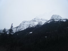 Rock Climbing Photo: snowcapped