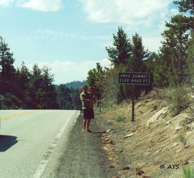 Rock Climbing Photo: Onyx Summit with Savannah