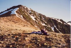 Rock Climbing Photo: Ridgeline from which the oceans were visible.  Lov...