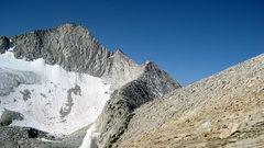 Rock Climbing Photo: North Ridge, as seen from North Peak col