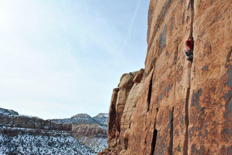 Rock Climbing Photo: generic crack