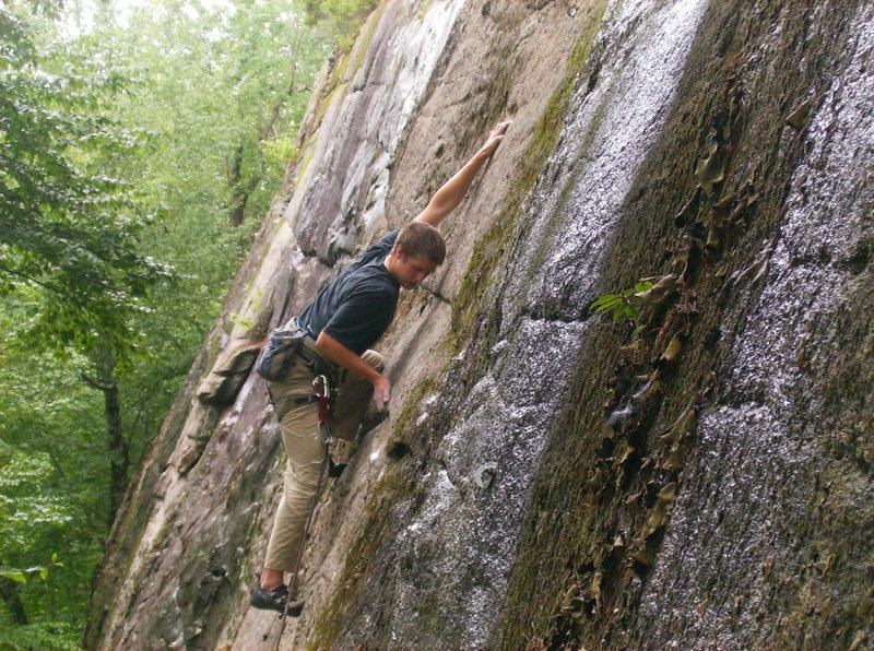 Rock Climbing Photo: Henry Maxfield, on hell raiser