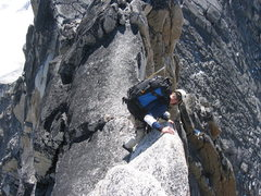 Rock Climbing Photo: a descent in the bugs