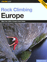 Rock Climbing Europe by Stewart Green