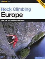 Rock Climbing Europe by Stewart Green
