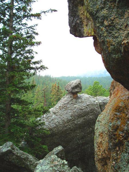 Rock Climbing Photo: Aquarium Rock